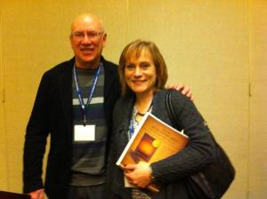 Stephen G. Dempster and Elke at ETS 2011