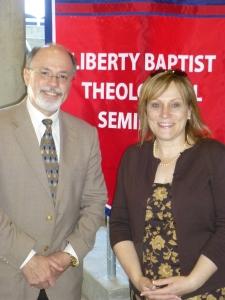 Dr. David Hirschman and Elke