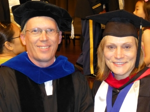 Dr. Gary Yates and Elke