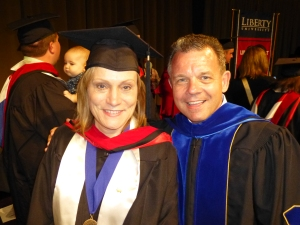 Elke and Dr. David Wheeler