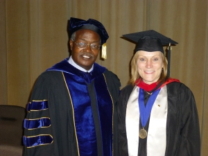 Dr. Jones Kaleli and Elke