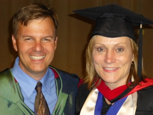 Dr. Ed Smither and Elke